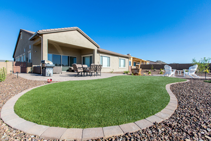 Artificial Turf has all the beauty of a grass lawn with none of the hassle.