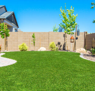 Have a beautiful grass lawn made from Artificial Turf.