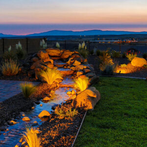 Outdoor Lighting brings out all of the features of your outdoor experience.