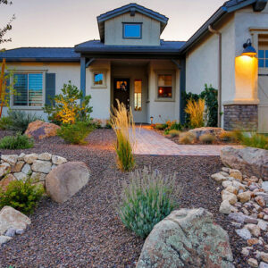 Thoughtfully designed landscaping for your residential property.