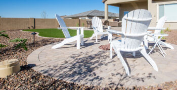 Creating patio spaces for your outdoor entertainment.