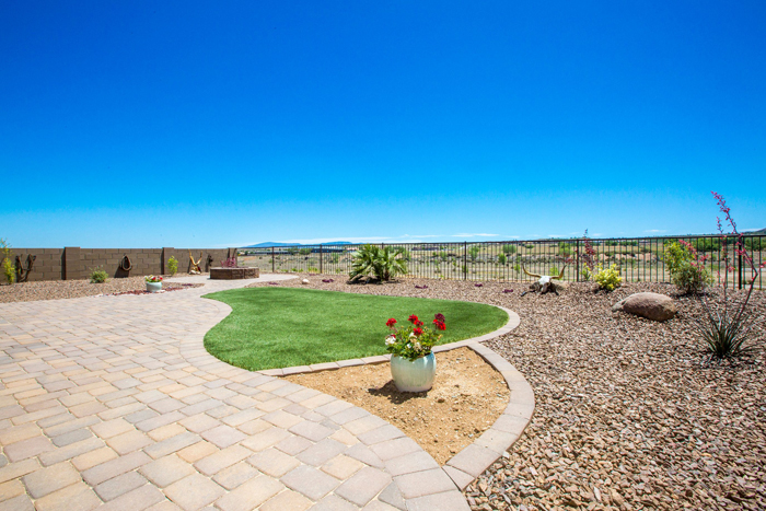 Paver spaces and walkways can define elements of your landscaping project.