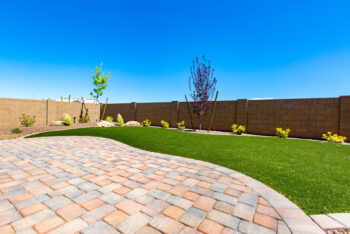 Small amounts of Artificial Turf can bring green enhancements to any yard.