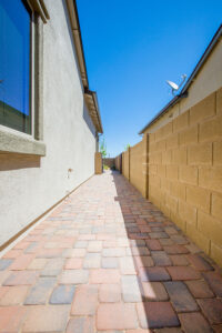 We can make the spaces between your home beautiful with Pavers.