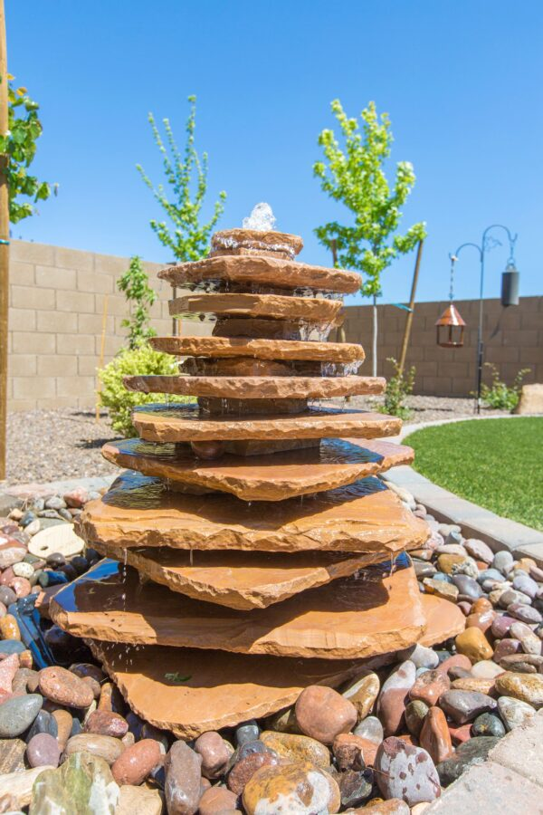 We design custom fountains to add sound and beauty to your yard.